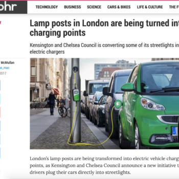 Alphr – Lamp posts in London are being turned into charging points