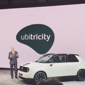 ubitricity closes series C funding and adds Honda as a new partner