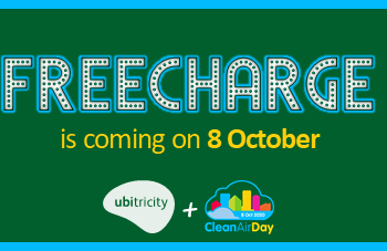 FREECHARGE for Clean Air Day and make charging easier